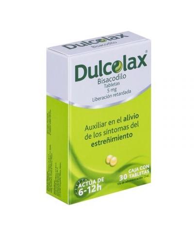 DULCOLAX 5MG GRAG C/30