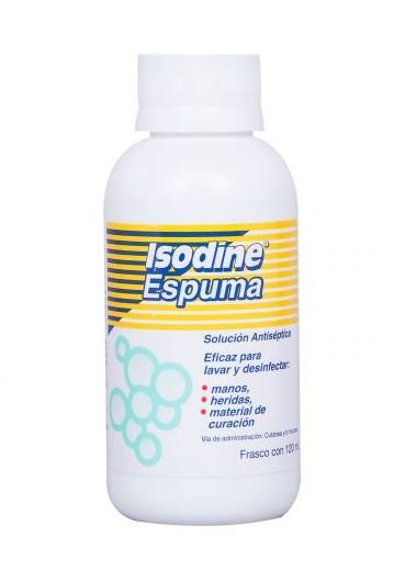ISODINE ESPUMA 120ML