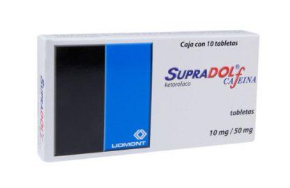 SUPRADOL-CAFEINA T C/10 10/50MG