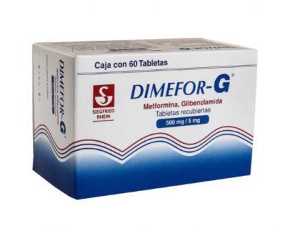 DIMEFOR G 500MG/5GR TAB C/60