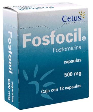 FOSFOCIL 500MG CAP C/12
