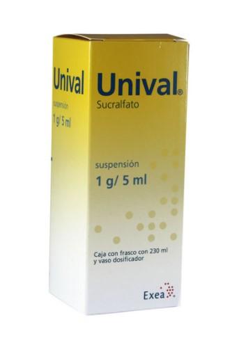 UNIVAL SUSPENSION 1GR 15ML