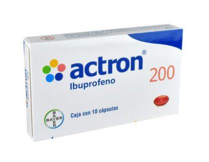 ACTRON 200MG CAP C/10