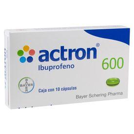 ACTRON 600MG CAP C/10