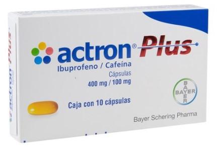 ACTRON PLUS 400/100MG CAP C/10