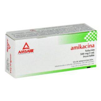 AMIKAC 500MG 2AMP 2ML PLAST