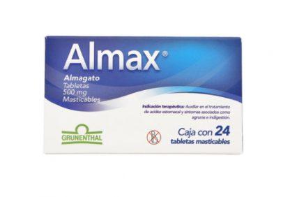 ALMAX 500MG TAB MAST C/24