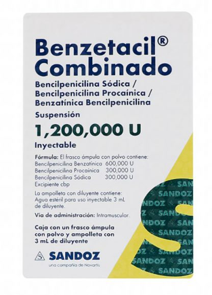 BENZETACIL COMBINADO F.A. 3ML