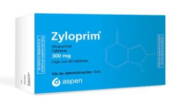 ZYLOPRIM 300MG TAB C/60