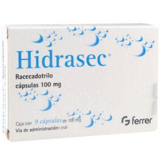 HIDRASEC 100MG CAP C/9