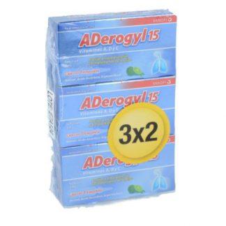 ADEROGYL 15 SOL ING AMP NF 3 x 2
