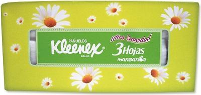 KLEENEX MANZANILLA C/100 PZAS