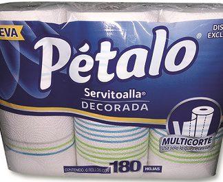 PETALO SERVITOALLA C/6 ROLLOS 180 HOJAS