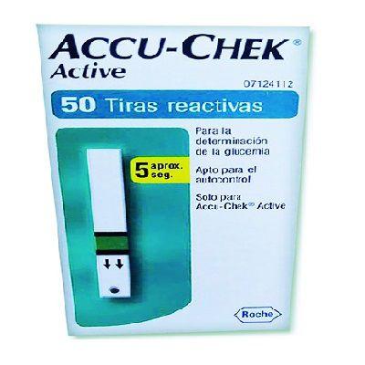 ACCU-CHEK ACTIVE TIRAS REACTIVAS C/50