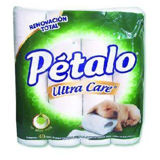 PETALO ULTRACARE PAPEL HIG C/40 ROLLOS
